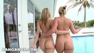 Grabamos una porno culonas con Alexis y Marie luego de ir a la playa!!